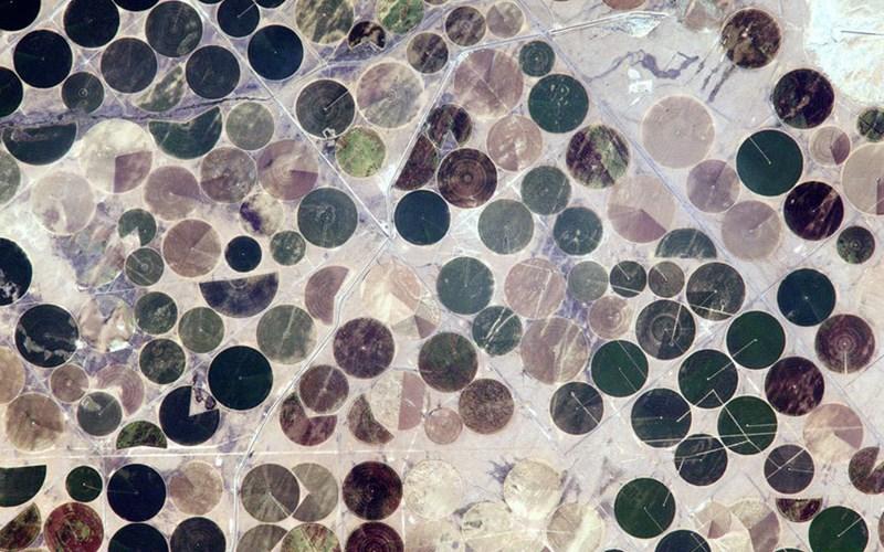 Hình ảnh đáng kinh ngạc về các công trình thủy lợi ở miền trung nước Mỹ.