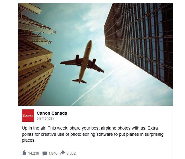 """Canon """"đá đểu"""" vụ Nikon trao giải cho bức ảnh Photoshop"""