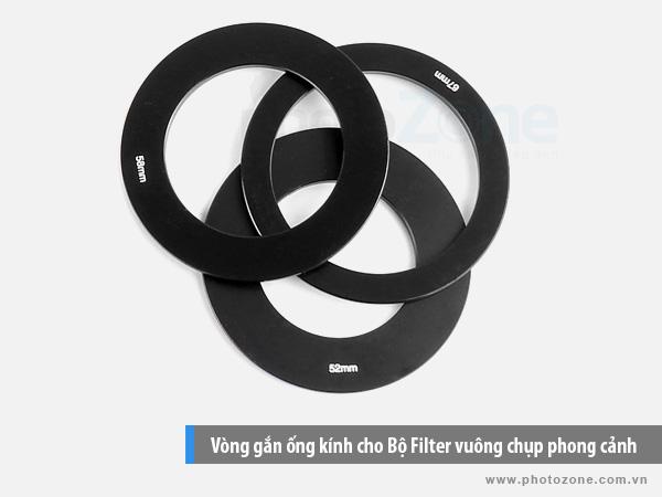 Vòng gắn ống kính cho Bộ Filter vuông chụp phong cảnh