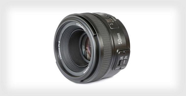 Yongnuo tung ống kính 50mm f/1.8 giá siêu rẻ cho Nikon