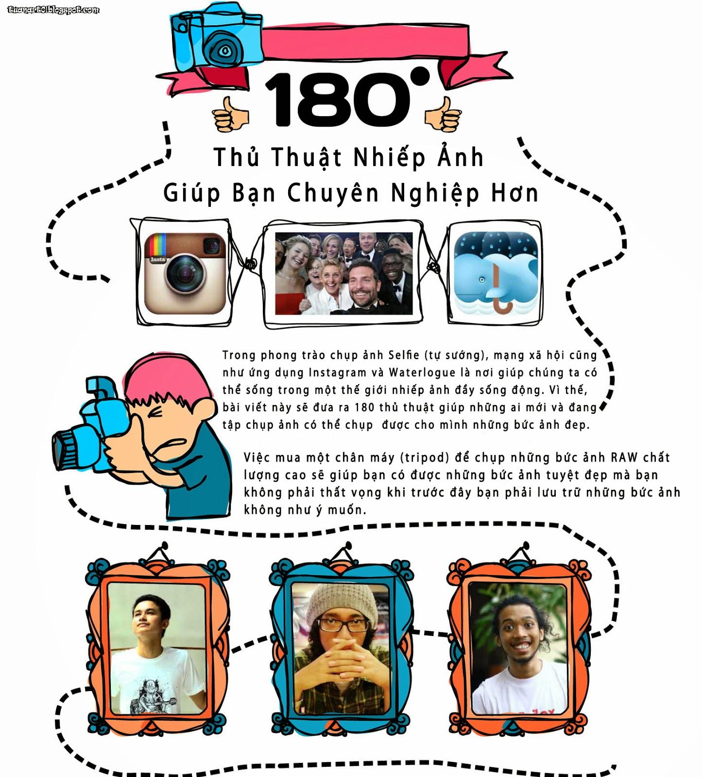 180 kỹ năng của nhiếp ảnh gia chuyên nghiệp