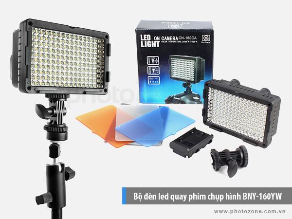 Bộ đèn Led Light quay phim chụp hình CN-160CA
