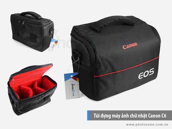 Túi đựng máy ảnh chữ nhật Canon C6