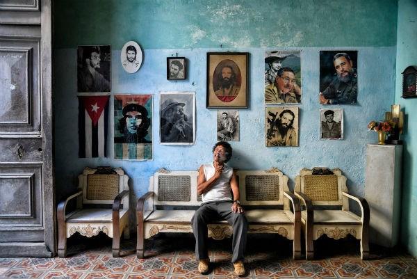 Bức ảnh chụp tại La Habana ở Cuba là của tác giả Romaine W.