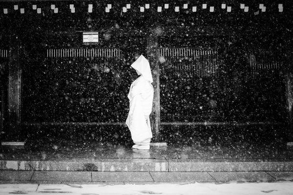 Nhiếp ảnh gia Stephane Mangin đã ghi lại khoảnh khắc này ở thủ đô Tokyo, Nhật Bản.