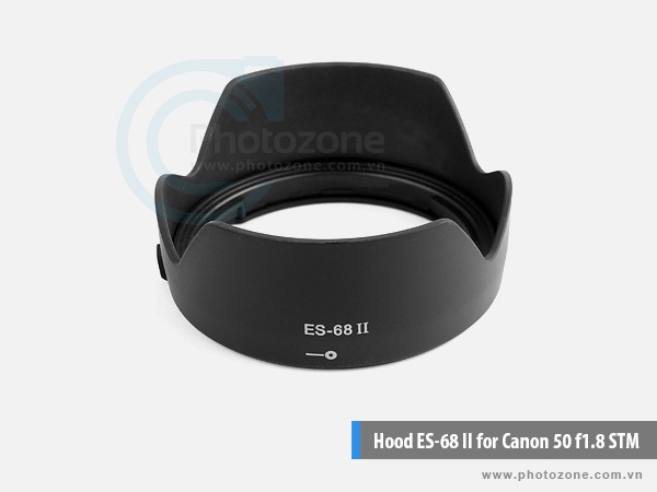 Hood ES-68 II for Canon 50mm f/1.8 STM