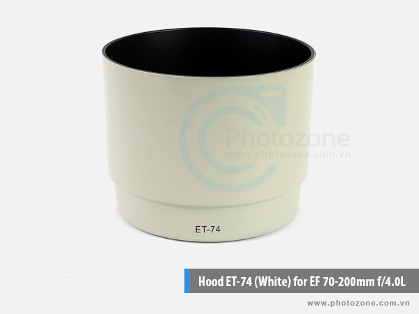 Hood ET-74 (White) for EF 70-200mm f/4.0L