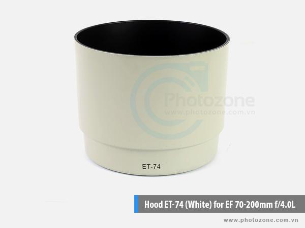 Hood ET-74 (White) for EF 70-200mm f/4.0L