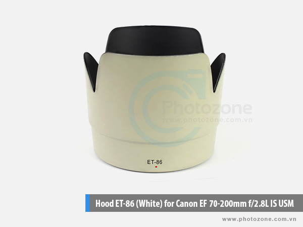 Hood ET-86 (White) for Canon EF 70-200mm f/2.8L IS USM