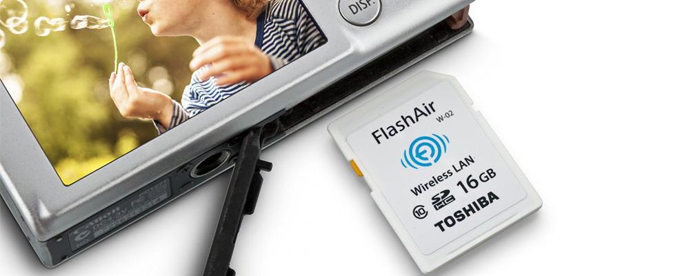 Review thẻ nhớ SD Toshiba FlashAir tích hợp kết nối WiFi