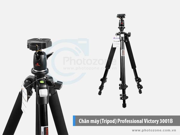 Chân máy (Tripod) Professional Victory 3001B
