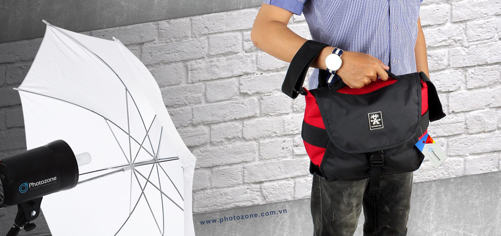 Túi máy ảnh Crumpler Five Million Dollar Home