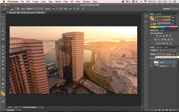 Làm thế nào để thêm ánh sáng flare vào ảnh bằng Photoshop?