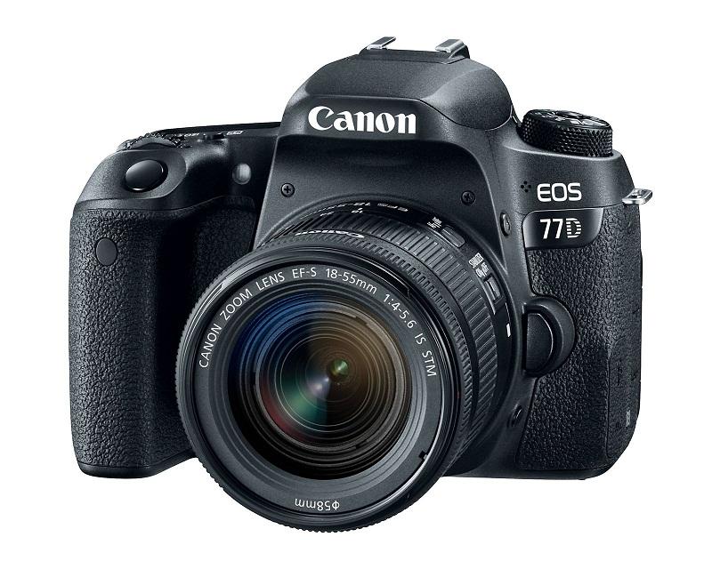 Canon ra mắt máy ảnh mới EOS 800D, EOS 77D và EOS M6