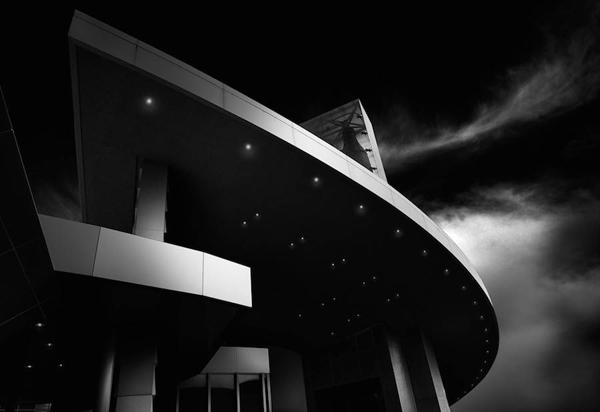 Bộ ảnh trắng đen độc đáo của những công trình kiến trúc nổi tiếng ở Mỹ
