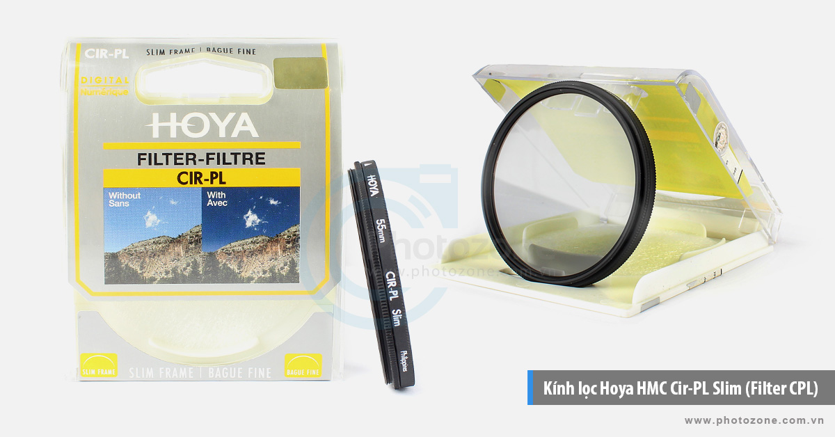 Kính lọc Hoya HMC Cir-PL Slim (Filter CPL)
