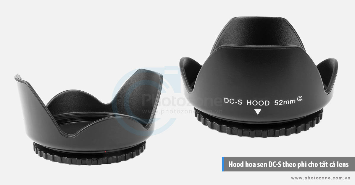 Hood hoa sen DC-S theo phi cho tất cả lens