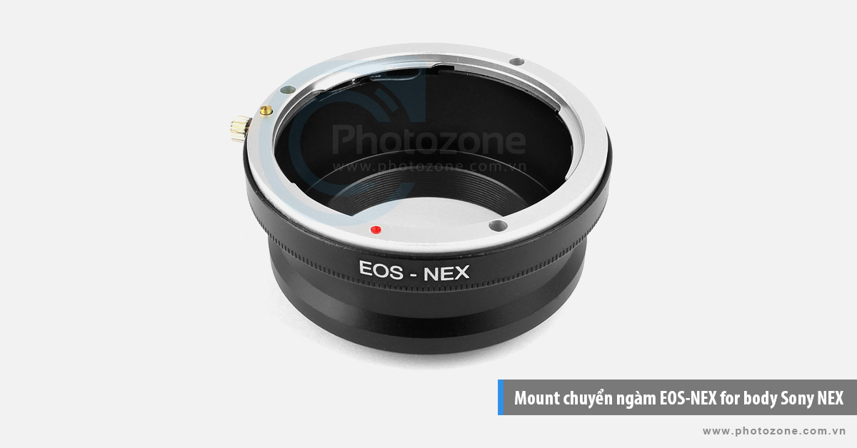 Mount chuyển ngàm EOS-NEX (E-mount) for body Sony NEX