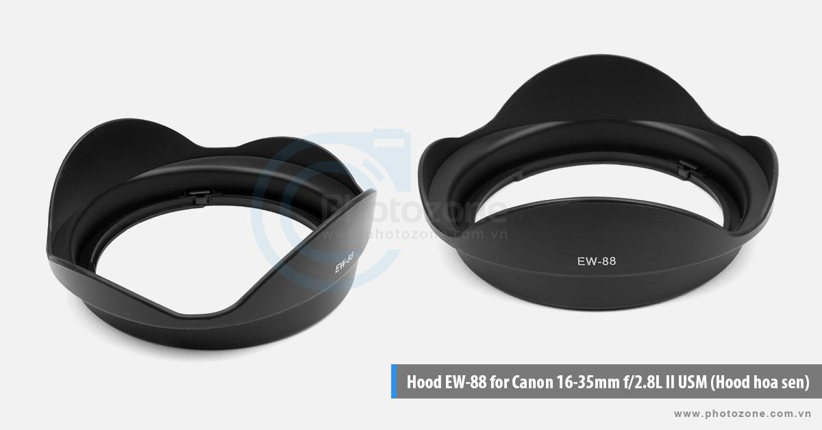 Hood EW-88 for Canon 16-35mm f/2.8L II USM (Hood hoa sen)