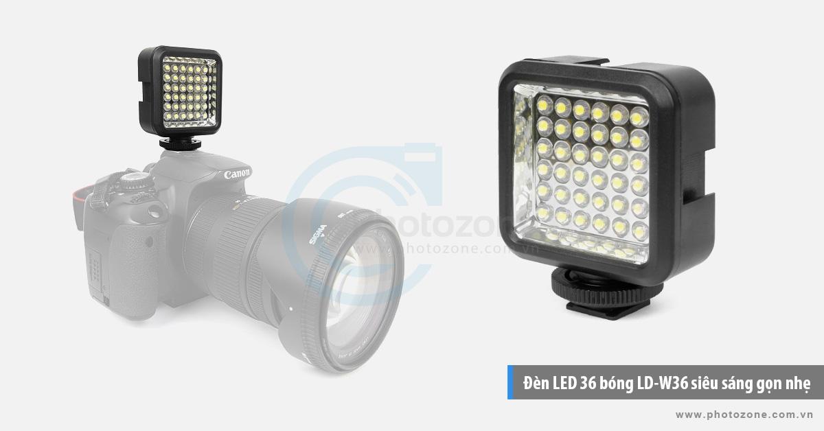 Đèn LED 36 bóng LD-W36 siêu sáng gọn nhẹ