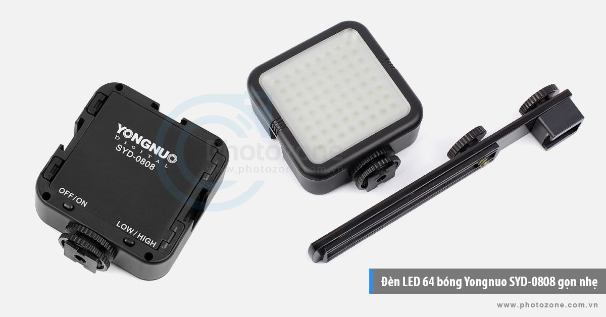 Đèn LED 64 bóng Yongnuo SYD-0808 gọn nhẹ