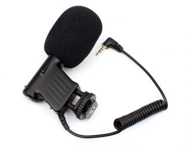 Micro thu âm Boya BY-VM01 cho máy ảnh