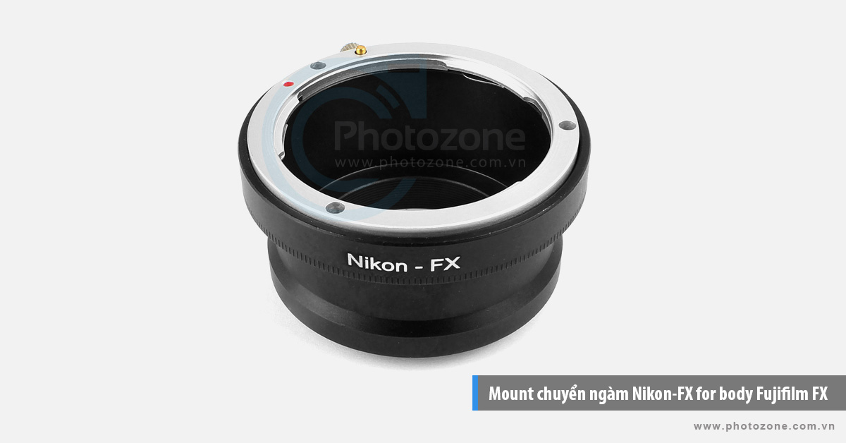 Mount chuyển ngàm Nikon-FX for body Fujifilm FX