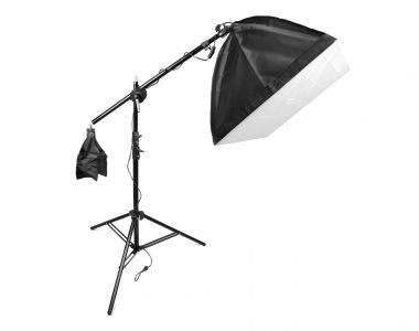 Bộ đèn đánh ven chủ thể dành cho phòng chụp Studio LED 60W