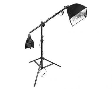 Bộ đèn đánh ven chủ thể dành cho phòng chụp Studio
