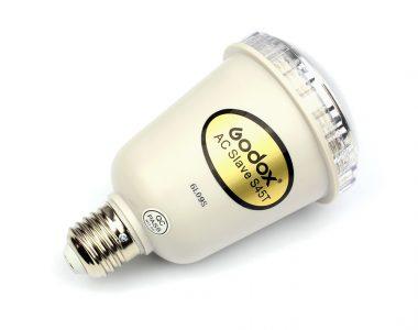 Đèn Godox AC Slave Flash 45W nhại lại đuôi đèn E27