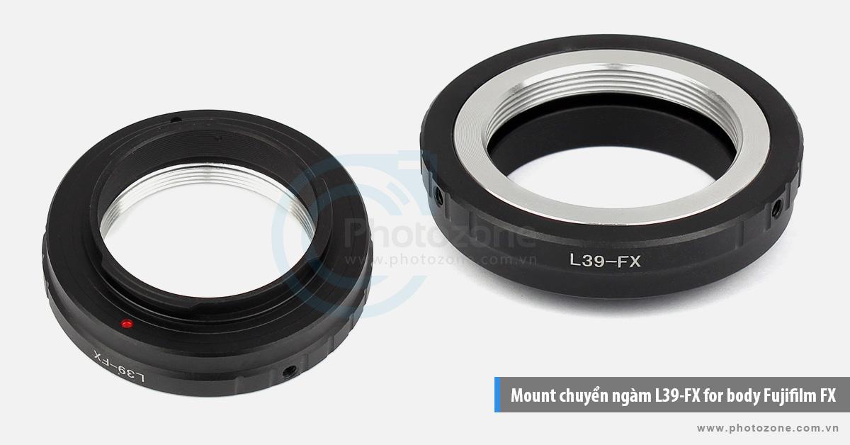 Mount chuyển ngàm Leica L39-FX for body Fujifilm FX