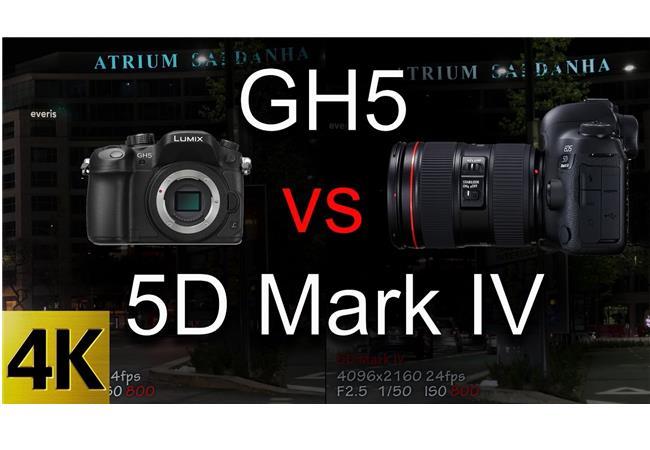 5 lý do để máy ảnh Panasonic GH5 vượt qua Canon 5D Mark IV
