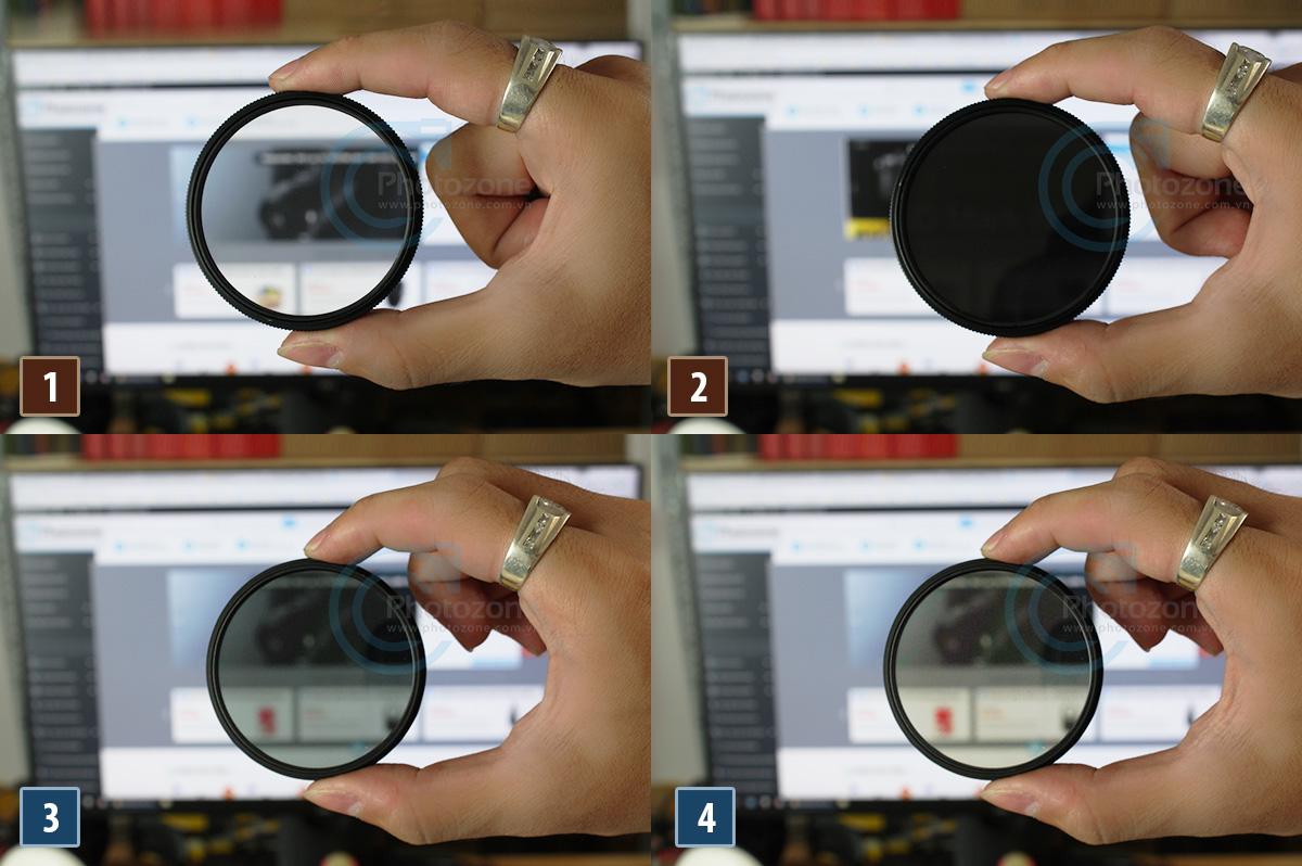 Bí quyết phân biệt kính lọc CPL xịn và dỏm