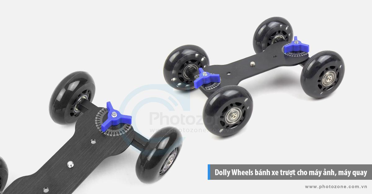 Dolly Wheels bánh xe trượt cho máy ảnh, máy quay