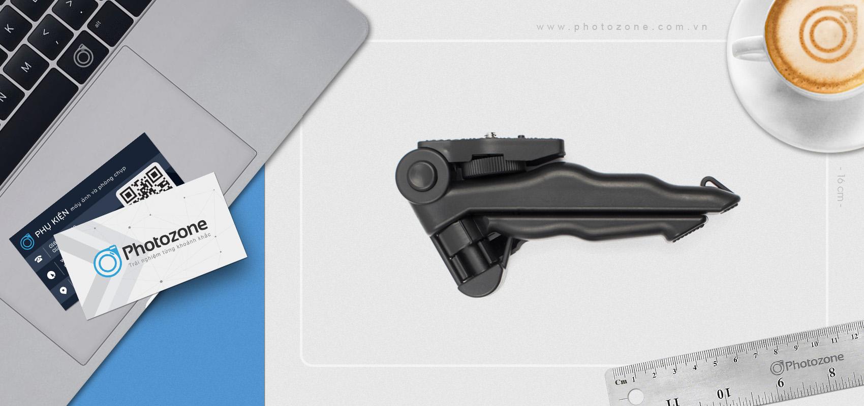 Tripod mini + Grip cầm tay cho GoPro HERO, Compact
