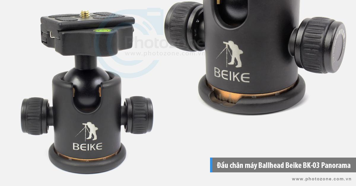 Đầu chân máy Ballhead Beike BK-03 Panorama