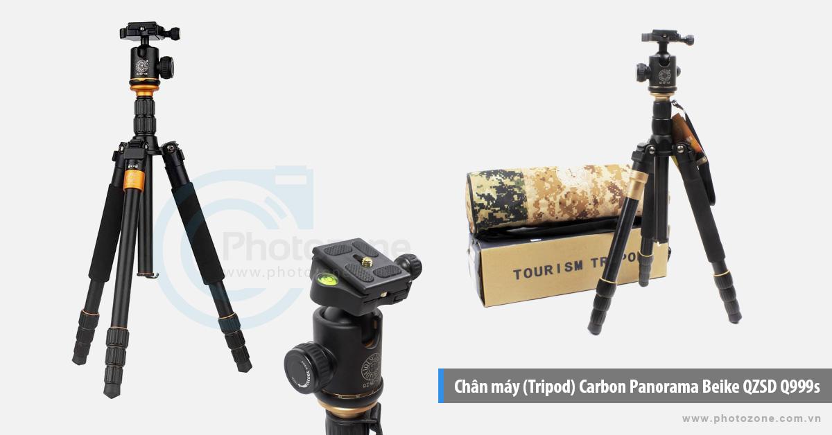 Chân máy (Tripod) Beike Q999s Carbon Panorama QZSD