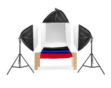 Bộ hộp chụp sản phẩm quảng cáo 60x60x60cm