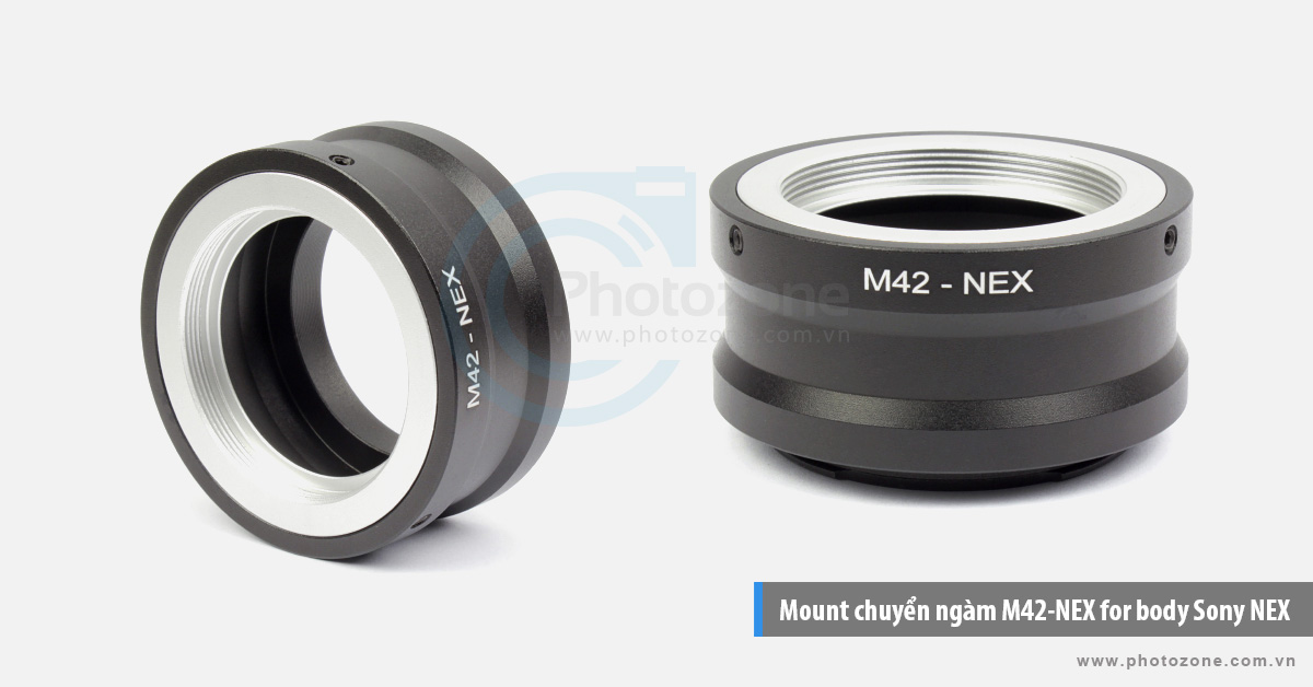 Mount chuyển ngàm M42-NEX (E-mount) for body Sony NEX