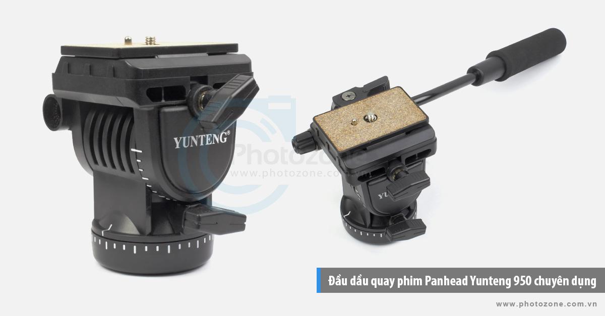 Đầu dầu quay phim Panhead Yunteng 950 chuyên dụng
