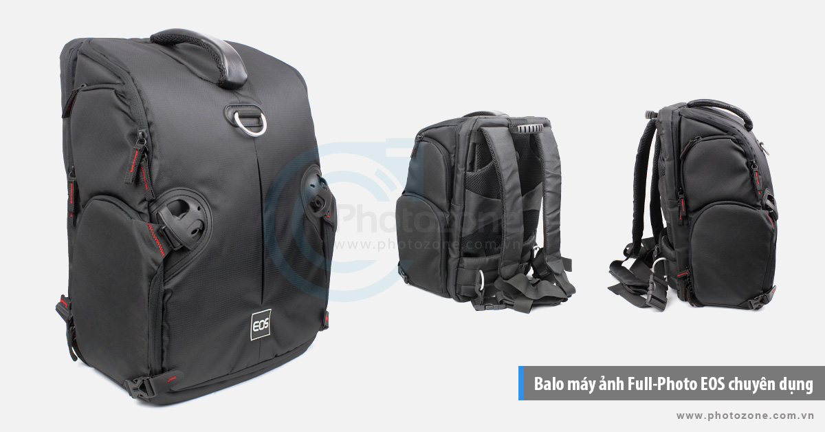 Balo máy ảnh Full-Photo EOS chuyên dụng
