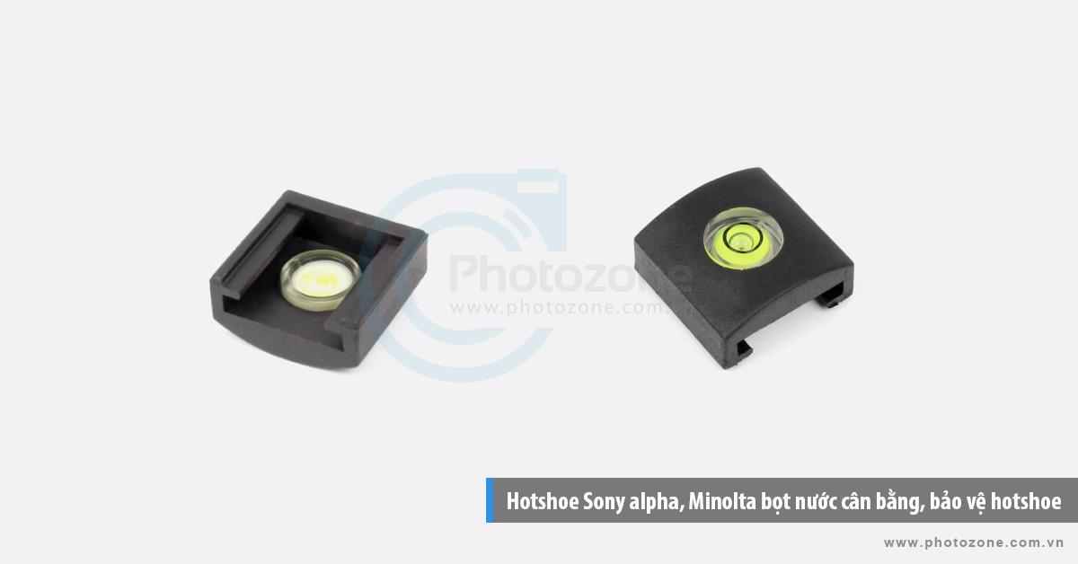 Hotshoe bọt nước cân bằng kiểu ngược dành cho Sony NEX-7, Minolta bảo vệ hotshoe
