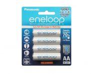 Pin sạc AA Panasonic Eneloop thế hệ 4 BK-3MCCE (1900mAh – 2100 lần sạc)
