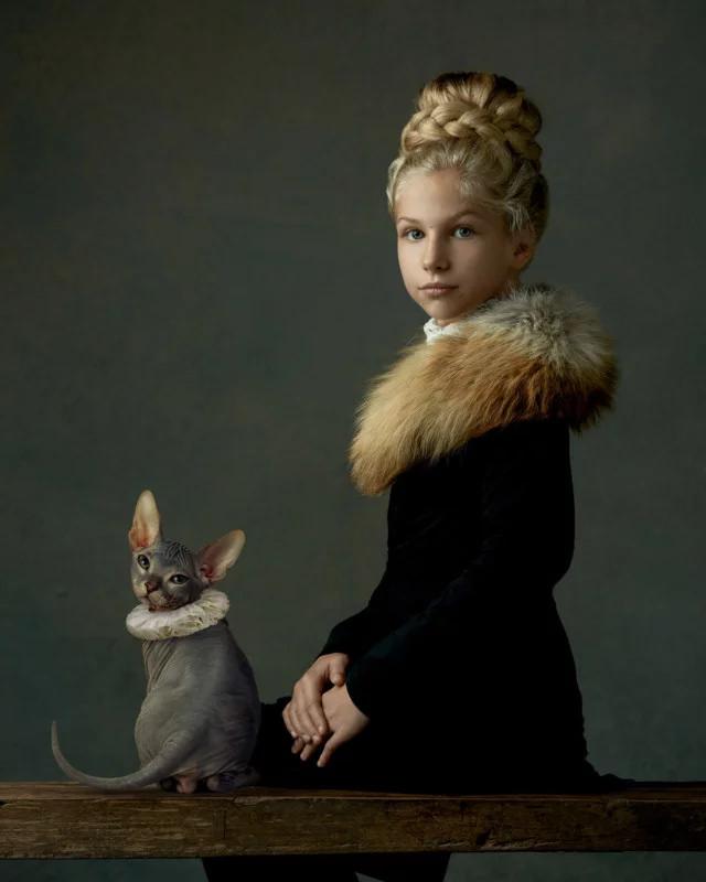 Đột phá chụp ảnh chân dung theo phong cách của các họa sĩ bậc thầy