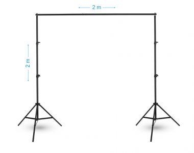 Khung treo phông nền (2 x 2m) chụp ảnh gấp gọn di động