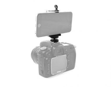 Bộ hỗ trợ kẹp điện thoại lên máy ảnh DSLR, Mirrorless