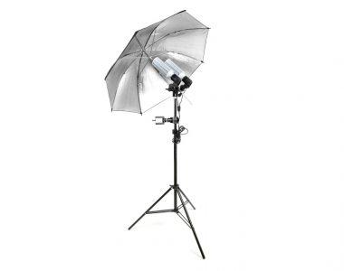 Bộ đèn dù hỗ trợ Live Streams tạo CatchLight chuyên nghiệp LED 120W