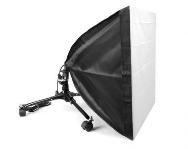 Bộ Softbox 50x50cm đánh dưới thấp LED 30W