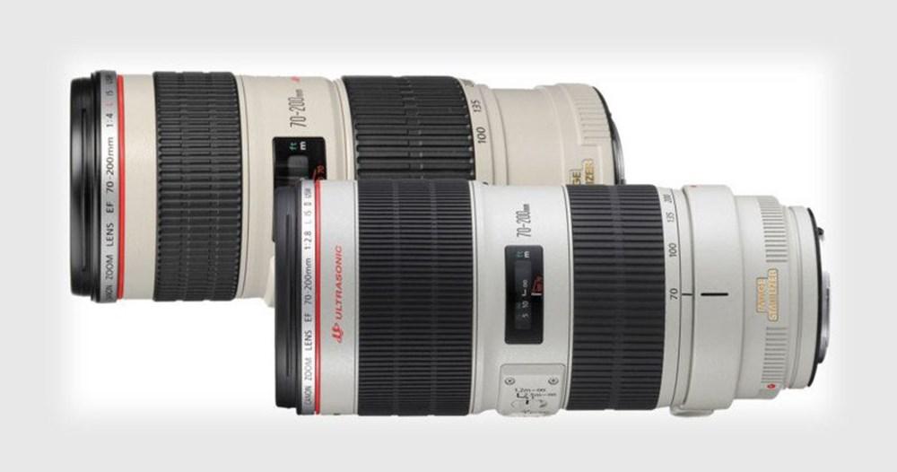 Canon sắp giới thiệu hai ống kính tele-zoom 70-200mm thế hệ mới