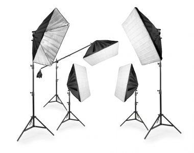 Bộ 5 Softbox Full Kit Studio chuyên nghiệp LED siêu sáng 1320W
